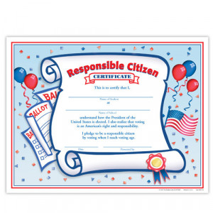Responsible Citizen Certificate