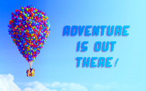 ... up disney pixar movies adventure love quotes texts balloons colorful