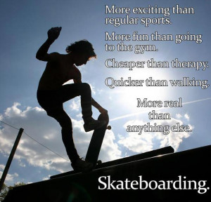 Funny Skateboarding Quotes