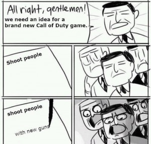 Brainstorming Ideas For New Call Of Duty Video Games Comic