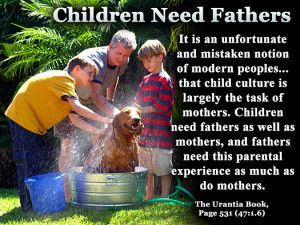 children need fathers quote of the day parents funny quotes
