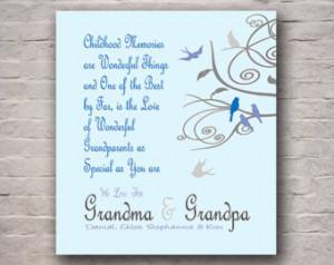 ... , Choose Same Amount of Birds as Grandchildren Ideal Grandparent Gift