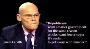 James Carville: Republicans want smaller government for the same ...