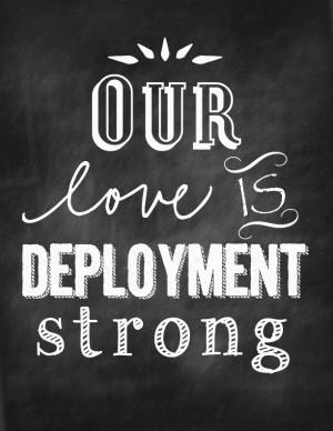 Deployment love!
