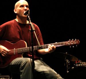 Ian Mackaye Playing Guitar...
