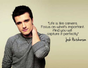 Life Is like camera. Focus on what's important. And you will capture ...