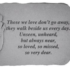 words of comfort ..... More