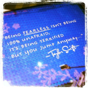 fearless, quote, taylor swift, typography