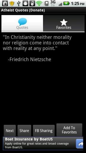 Atheist Quotes (Donate)