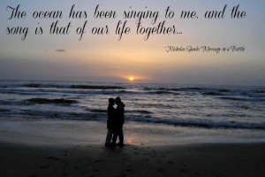 Nicholas Sparks love #quotes - write your Valentine a love note!