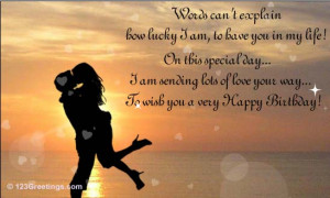 Birthday Quotes From Wife To Husband ~ Birthday Quotes For Husband ...