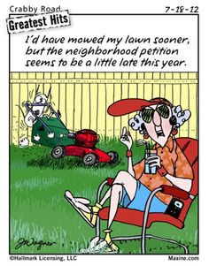 ... lawn mower funny pinterest humor maxine funny maxine work quotes