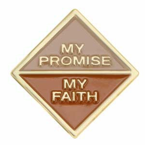 Brownie Girl Scouts My, Promise, My Faith activity