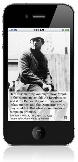 """Will Rogers on """"Who Can Remember a Campaign Promise?"""""""