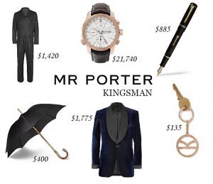 Kingsman Umbrella Secret Service