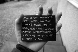 depression sad quotes words lyrics college secrets teens teenagers ...