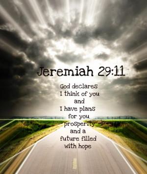 ... Bible Verses Wallpaper – Jeremiah 29:11 – God Has Plans for You