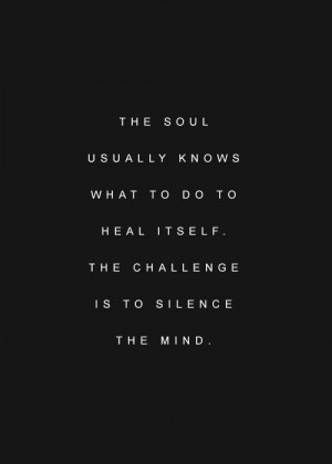 quote trust your soul