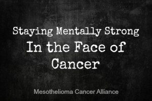 Staying mentally strong in the face of cancer