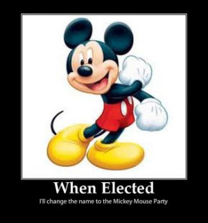 Is It Ironic That Conservatives Joke About Voting For Mickey Mouse ...