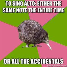 music choirs school life choir kiwi funni theatr meme the sopranos