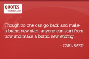 brand new start quotes