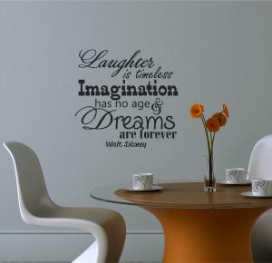 Walt Disney Imagination Quotes