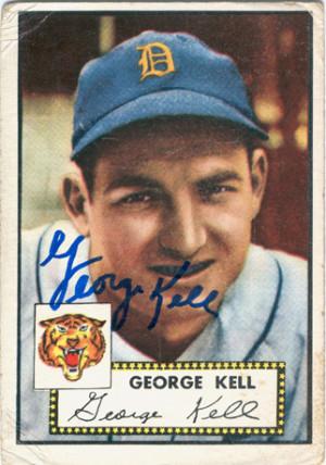 George Kell Detroit Tigers Coverage
