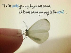 Listen to Many, Speak to a Few.