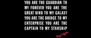 Star Trek Gotta Love Trek Quote Tee For Valentine's Day