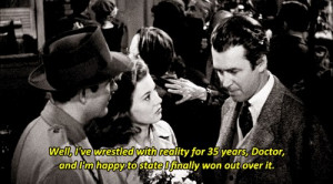 ... , and I'm happy to state I finally won out over it - Harvey (1950