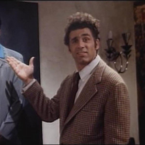 Kramer from Seinfeld the funnist. These pics are just the best.