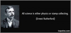 Re: Science quotes