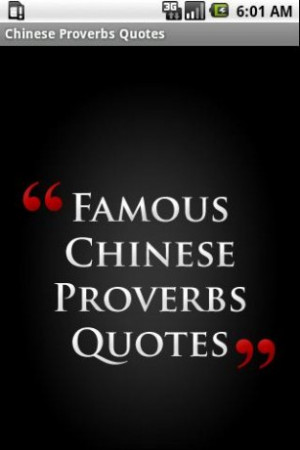 View bigger - Chinese Proverbs Quotes for Android screenshot