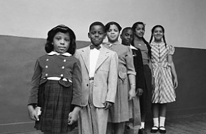 African-American students on whose behalf the Brown v. Board of ...