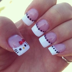Thanks Mike! My hello kitty nails are a hit! So cute!