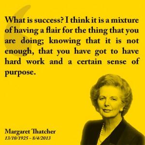 Success quotes - Margaret Thatcher