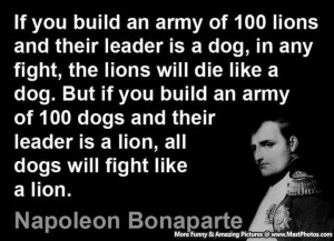 Military Leadership Quotes Good leader quotes a