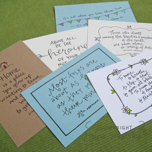 ... You'll receive quotes about family, friendship and staying in touch