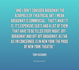 Broadway Quotes Preview quote