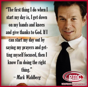 Mark Wahlberg Quote