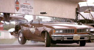 Sheriff Buford T. Justice's 1977 Pontiac Lemans loses its head in ...