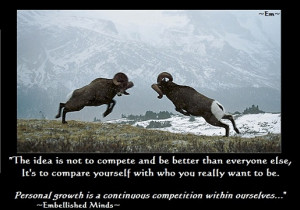 inspirational quotes compete Inspirational Quotes: Competition with ...