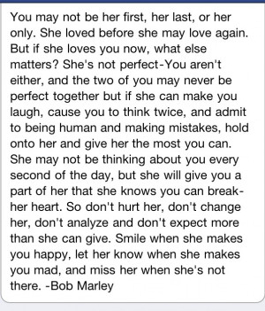 Bob Marley - greatest quote