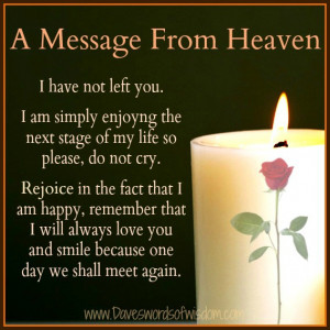 Message From Heaven.