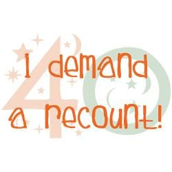 40th_birthday_demand_a_recount_tile_coaster.jpg?height=250&width=250 ...