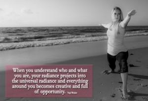 universal radiance Yogi Bhajan Picture Quote
