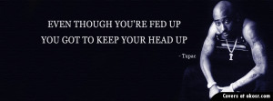 Tupac Quotes Facebook Cover