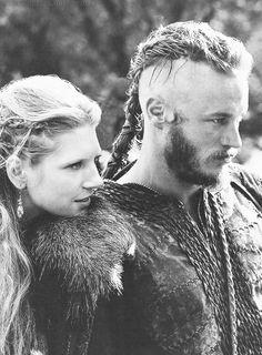 Vikings - Lagertha & Ragnar - Power couple! More