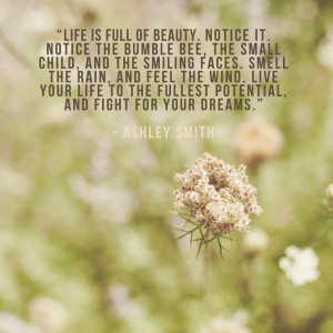 Peoria IL lifestyle photographer | A happy quote